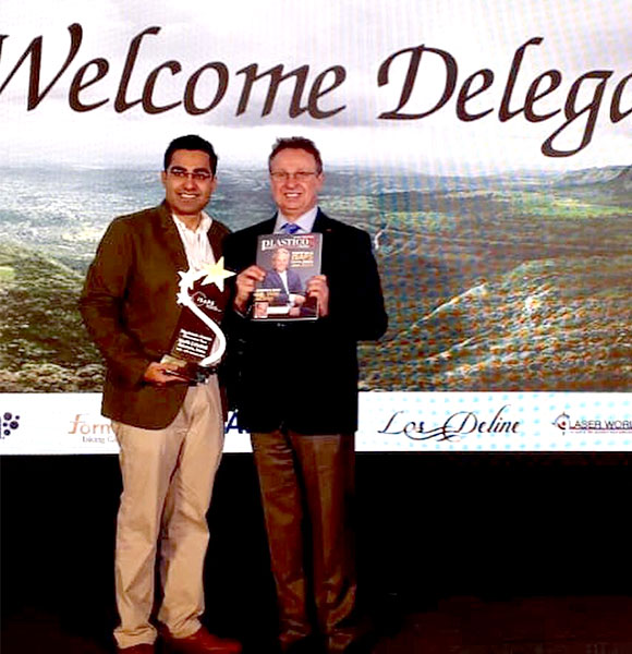 Felicitation by International Rhinoplasty expert by Dr. Nazim Cerkes